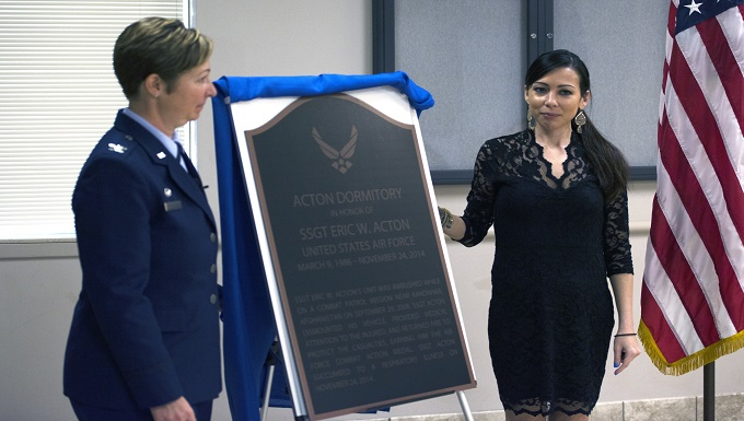 59th TRG renames dorm after fallen combat medic