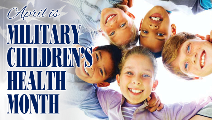 Military Children's Health Month